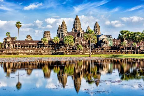 Angkor Wat i Kambodja