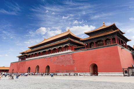 Förbjudna staden i Peking, Kina