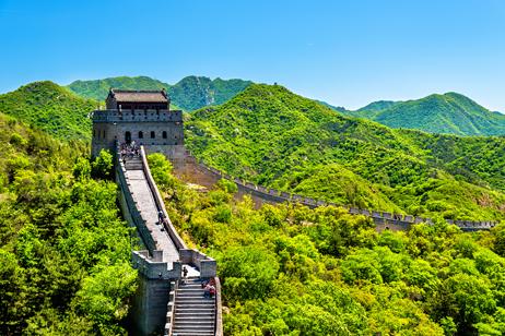 Kinesiska muren, världens största byggnadsverk