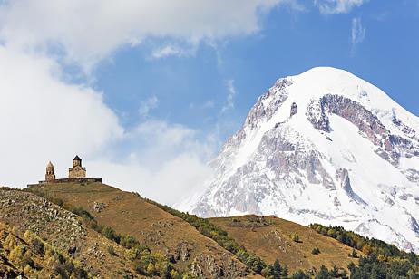 Kazbeg i Georgien