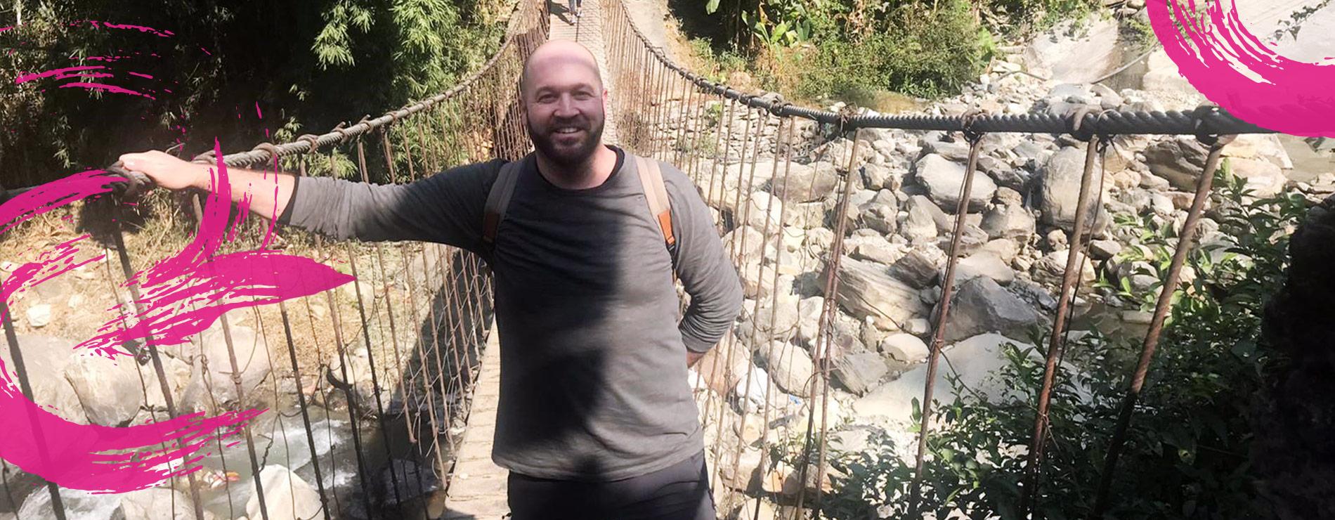 András resa till Nepal