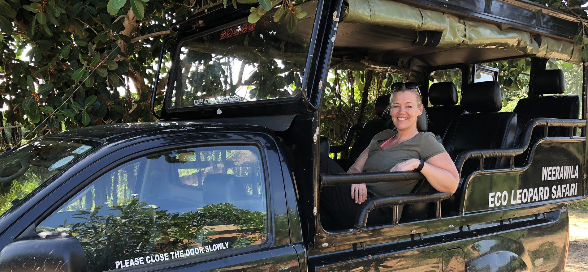 Ulricas resa till Sri Lanka